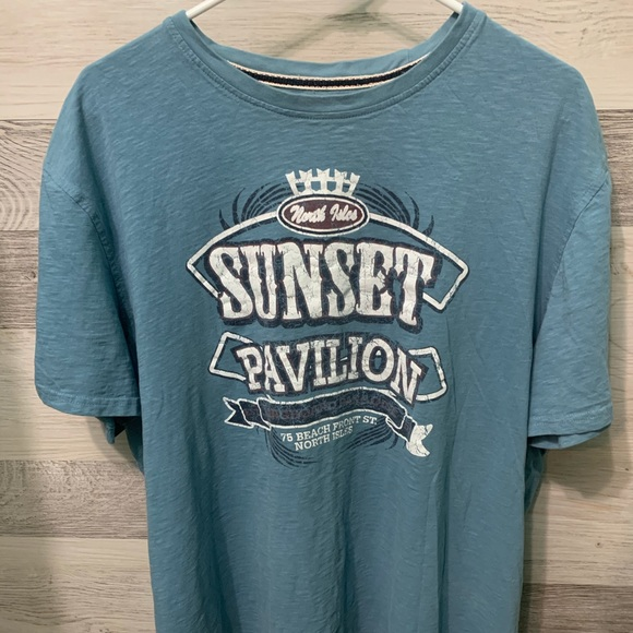 Sunset Pavilion Printed Tee by George